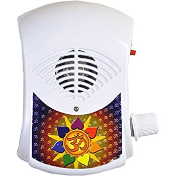 BISMAADH Om Mantra Chanting Bell/Pooja Bell/Mantra Electric Light continious Sound 28 in 1