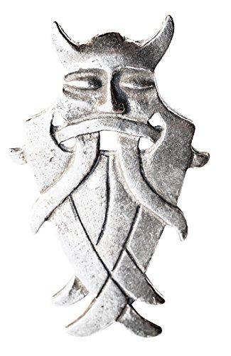 Schlauheit und Diskretion - Trove of Valhalla, eine Sammlung von authentischen Viking Anhänger Halsketten beendete bleifrei-Zinn (Schreckliche Masken)