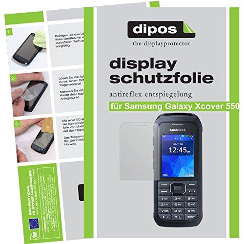 dipos I 6X Schutzfolie matt passend für Samsung Galaxy Xcover 550 Folie Bildschirmschutzfolie
