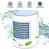 Aire acondicionado portátil Anbber Air Cooler 4 en 1 ventilador purificador de aire para...