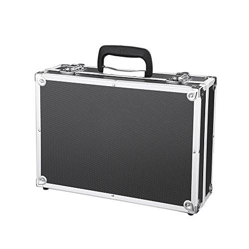 iKayaa 3er Set Transportkoffer Werkzeugkoffer mit Aluminiumrahmen und ABS - 4