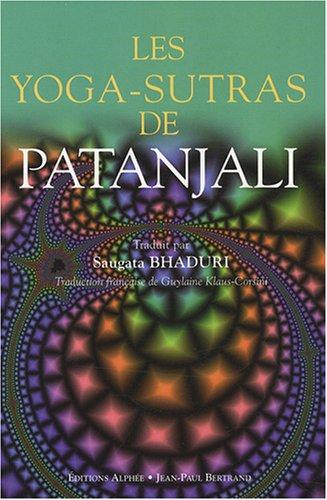Les Yoga-sutras de Patanjali