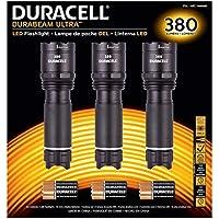 Duracell Durabeam Ultra táctica Compacto de Gran Intensidad LED Linterna, 3 Unidades