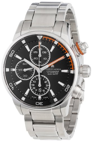 Maurice Lacroix PT6008-SS002332 - Reloj de pulsera hombre, acero inoxidable, color Plata