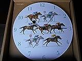 Best RCA clock - Circular Horse Racing Clock featuring Sue Wingate Review