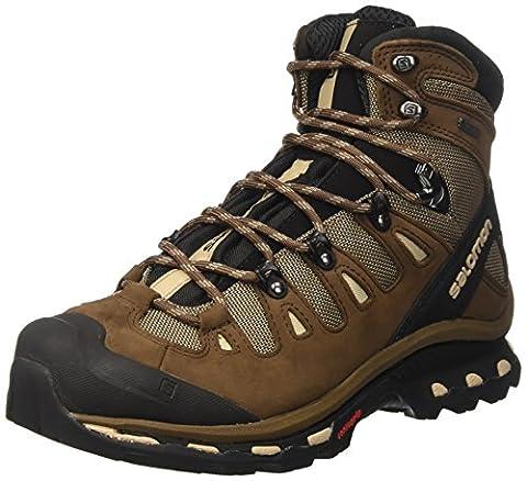 Salomon Quest 4d 2 Gtx, Chaussures d'Escalade Homme, Multicolore (Fossil/Rain Drum/Humus), 44 2/3 EU