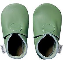 Bobux - BB 4153 NB Baby Shoes Apple Green