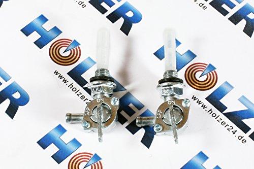 2x Benzinhahn für diverse Stromerzeuger und Benzin Motoren