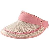 b7c2c1ad03733 Gespout Sombreros Gorras Boinas para Paño Mujer Hombres Vaquero Protección  Solar Viaje Hat Playa Sol Verano