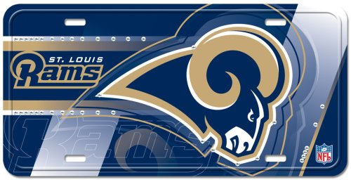 st-louis-rams-street-flair-plate