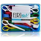 Euro Stil - Artículos peluquería - Pinzas grandes para permanente - 60 unidades