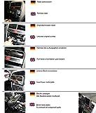 KUDA Navigationskonsole (LHD) für FIAT Grande Punto ab 10/05