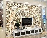 Fototapete 3D Tapete Mit Marmor Hintergrund Wand Mit Keramikfliesen 3D Effekt Vliestapete Wandbilder Wanddeko