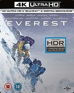 Everest (4K UHD Blu-ray + Blu-ray + Digital Download) [2015]