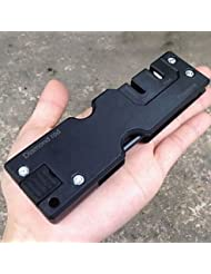 JUNQL& arrancador de fuego / Afiladores de cuchillos / Multiherramientas Camping / Al Aire Libre Multi Function otro Negro