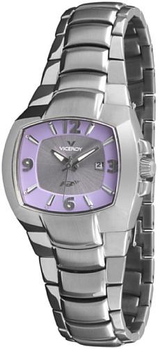 Viceroy 432028-75 – Reloj de Señora movimiento de quarzo con brazalete metálico lila