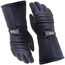 Australian Bikers Gear guantes para moto Thinsulate en color Negro en talla M