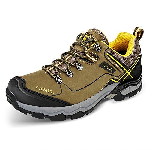CAMEL Wanderschuhe Outdoor Trekking Low-Top Professionelle Rutschfeste Outdoor Sneaker Wanderschuhe...