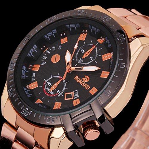 ihee-watchband-molto-comodo-lusso-uomo-oro-quadrante-nero-in-acciaio-inox-analogico-al-quarzo-orolog
