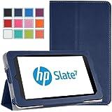 MoKo Slim Cover Case for HP Slate 7 E0P94AA Android 4.1 Jelly Bean Tablet, INDIGO