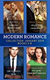 Modern Romance January Books 5-8: Awakening His Innocent Cinderella / Carrying the Sheikh's Baby / The Tycoon's Shock Heir / One Night with the Forbidden Princess (English Edition)