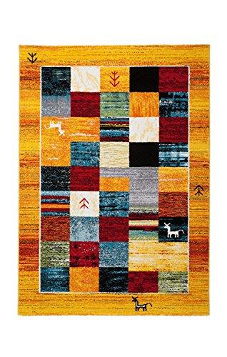 Obsession tappeto gabbeh 411, zenzero, 160 x 230 cm