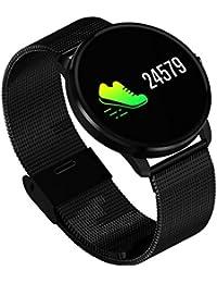 Sportelektronik Fitness & Jogging M5 0.96 Bluetooth Wasserdichte Smartwatch Armband Blutsauerstoff Blutdruck Puls