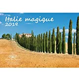 Italie magique · 29,7 cm x 21,0 cm · calendrier 2019 · Toscane · Adriatique · Lac de Garde · Vacances · Mer · Edition âme magique