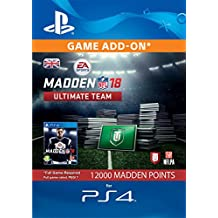 Image of 12.000 Madden NFL 18 Ultimate Team-Points [PS4 Download Code - UK Account] - Comparsion Tool