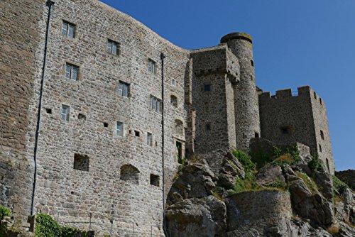 hansepuzzle 20607 Gebäude - Burg auf Jersey, 2000 Teile in hochwertiger Kartonbox, Puzzle-Teile in wiederverschliessbarem Beutel