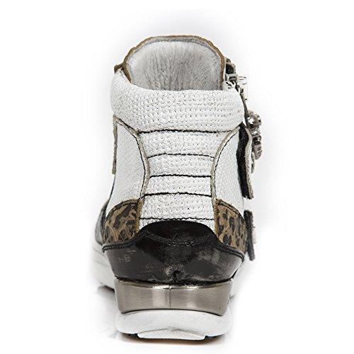 New Rock Hybrid Weiß Schuhe M.HY032-S18 White