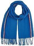Tommy Hilfiger MW0MW00948, Sciarpa Uomo, Blu (Nautical Blue), Taglia unica