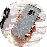 Funda con Purpurina para Samsung Galaxy Note 8 9 A8 A6 J4 J6 J2 Pro 2018 S9 S8 S6 S7...