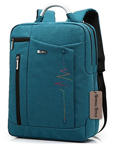 bronze-times-tm-premium-156-inch-shockproof-canvas-laptop-backpack-travel-bag-blue