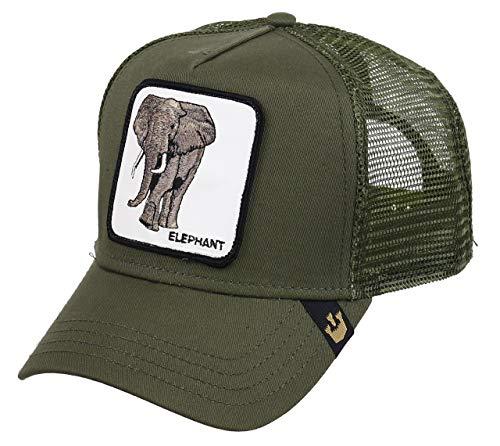 Goorin Bros. Trucker Cap Elephant Khaki, Size:ONE Size -