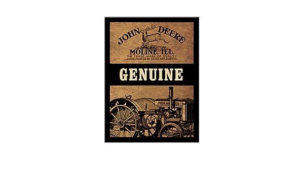 8 X 6 cm Magnet 14203 John Deere Genuine Neu