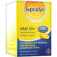 Supradyn Vital 50+ Ginseng 30 Tablets by Supradyn