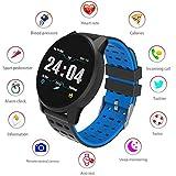 LayOPO Tracker Fitness Frequenza Cardiaca, Bluetooth Smartwatch Sbloccato Smartwatch per Uomo Donna...