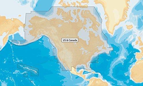 Navionics+ NAV+NI US and Canada Marine and Lake Charts on SD/MSD by Navionics -