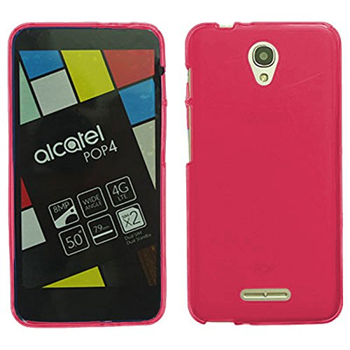tbocr-alcatel-pop-4-red-ultra-thin-tpu-silicone-gel-case-cover-soft-jelly-rubber-skin