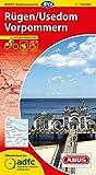 ADFC-Radtourenkarte 4 Rügen/Usedom Vorpommern 1:150.000, reiß- und wetterfest, GPS-Tracks Download und Online-Begleitheft (ADFC-Radtourenkarte 1:150000)