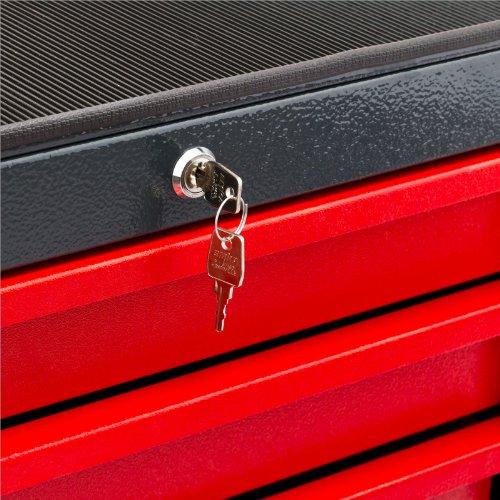 Werkstattwagen Michael 4+2 rot grau Werkzeugwagen Werkstatt zur Auswahl - 5