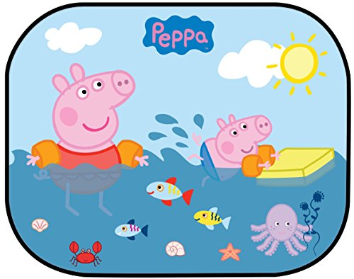 Image of Peppa Pig Sunshades 2 Side Window Sun 44x35cm x 2pcs Sun Shade
