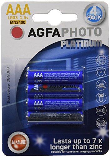 AgfaPhoto 110802572 Batteria, 4 Pezzi