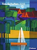 Kunstkalender 2018 - Ton Schulten 2018 Posterkalender, Wandkalender, Landschaftsmosaiken - 48 x 64 cm