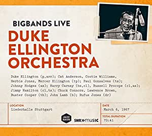 Duke Ellington Orchestra March 67 (Liederhalle Stuttgart 1967) (Arthaus: 101703)