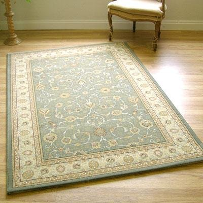 Noble Art Rug 6529-491 Green & Cream Traditional 0.67m X 2.4m (2'3 X 8' Approx) Runner