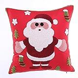 Die besten Kissenbezug Weihnachtsschmuck - XINMMLL Kissenbezug Santa Claus Kissen Kissen Weihnachtsschmuck Weihnachtsschmuck Bewertungen