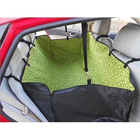 Cubierta de asiento de coche de perros mascotas lavable impermeable