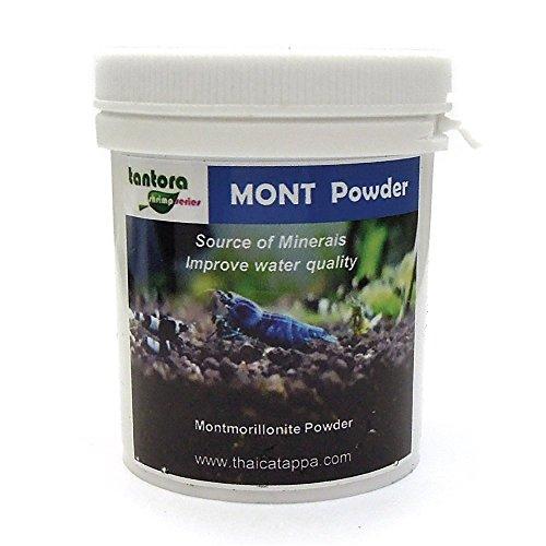 Tantora Montmorillonite in polvere - Sali minerali per Caridine e Pesci - 50 grammi